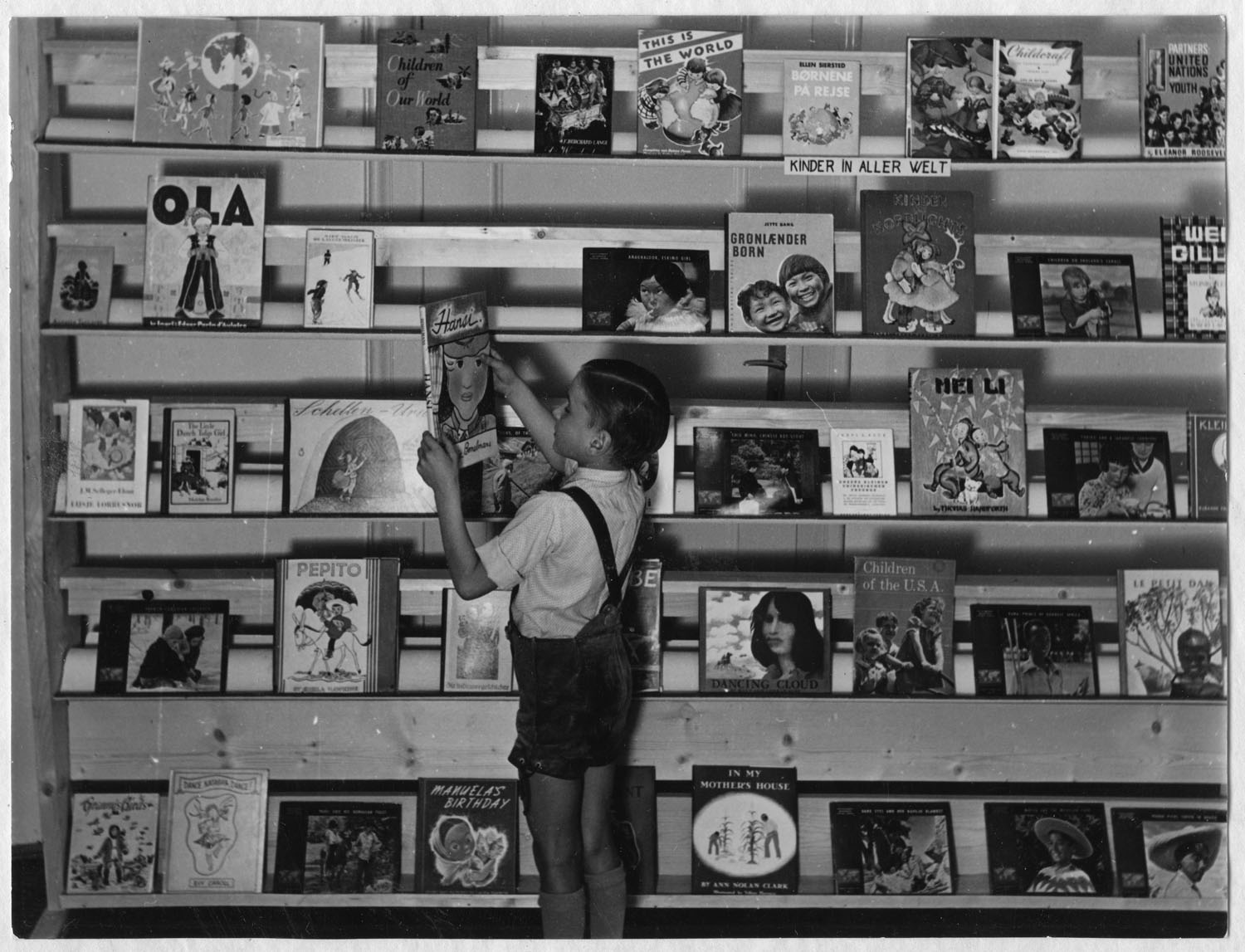 International children's youth book exhibition, 1954 (Germany)